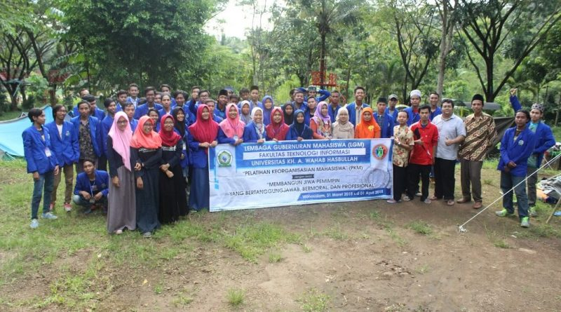 PKM (Pelatihan Kepemimpinan Mahasiswa) / LDK 2018